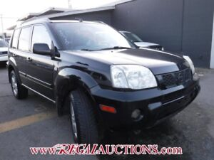 2005 NISSAN X-TRAIL  4D UTILITY EXT 4WD