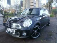 2013 63 MINI CLUBMAN 1.6 COOPER BOND STREET 5DOOR ESTATE BLACK PETROL 122 BHP