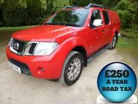 2013 Nissan Navara 3.0dCi V6 230 Outlaw Auto Double Cab 4x4 Pick Up Diesel