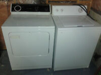 Waher and dryer set