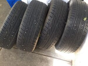 Set of Four 215/65/16 all season/summer tires