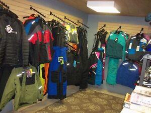 SNOW CLOTHES & AFTERMARKET PARTS