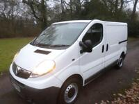 Vauxhall Vivaro 2.0 CDTi 115ps EU V 2012 2700 EcoFLEX SWB 63 REG 121K TAIL GATE