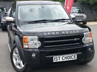 2006 LAND ROVER DISCOVERY 3 TDV6 HSE FANTASTIC BIG SPECIFICATION LOW MILEAGE HS