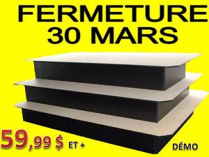 -**FERMETURE 30 MARS ! BASE EN MÉLANINE @ 59.99 $ et + NEUF