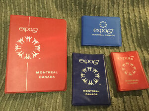 Divers carnets Expo 67