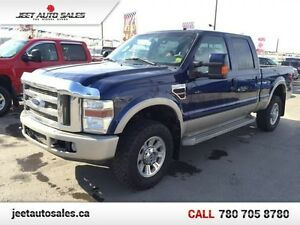 2008 Ford F-350 Super Duty KING RANCH 4x4 Crew LEATHER/SUNROOF/N