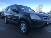 HONDA CR-V 2.0i SE SPORT FULL MOT FRESH SERVICE VERY CLEAN EXAMPLE
