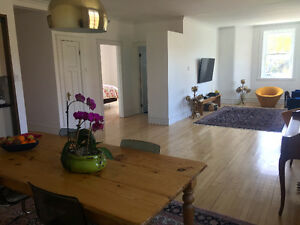 Furnished Sunny Beautiful 2bdrm condo on the Mont-Royal