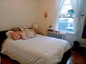 Summer Sublet in Magical Plateau Apartment  / July + August