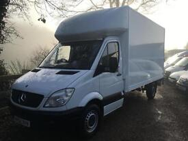 MERCEDES BENZ SPRINTER 313CDI LWB GRP LUTON WITH TAIL-LIFT 62 REG