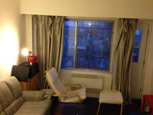 Looking for a female roommate to share a 2 1/2 at Mcgill ghetto