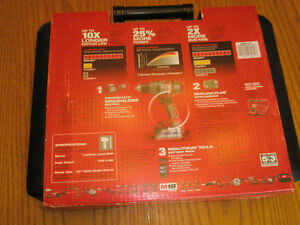 "New Milwaukee 1/2"" Hammer Drill / Driver Kit"