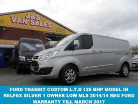 LIMITED VAN LR P/V L.W.B 125 BHP LOW MLS 31000