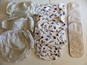 3 couches de coton, couvre-couches et inserts - XL (25 lbs +)