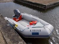 Yamaha 6hp and 2.7metre boat