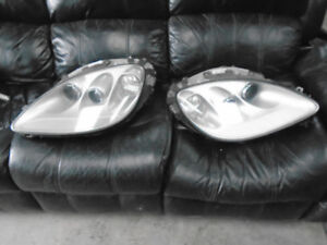07 SILVER C6 CORVETTE HEADLIGHT PAIR XENON $1200