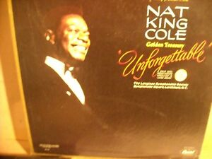 Nat King Cole - Unforgettable 6 LP Box Set.