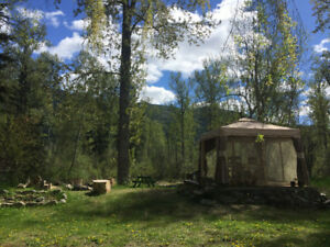 Rural Riverfront Acreage near Wells Gray Park, Clearwater, BC