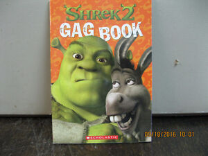 SHREK     2   GAG   BOOK    YEAR    2000
