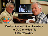 Home Movie Transfers * LP's, Cassettes, Reel to Reel