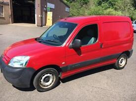 0606 Citroen Berlingo 1.9D 600D Enterprise Van Red 3 Door 50276mls