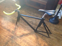 Brick Lane Bikes Fixed Gear La Piovra Air Frame, Fork + extras