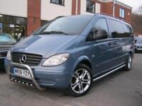 2006 06-Reg Mercedes Vito Traveliner 5 seater X-Long Auto,STUNNING COND & SPEC!!