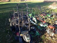 Used Lawn mower parts