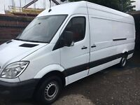 Mercedes sprinter van 311cdi very low Maile