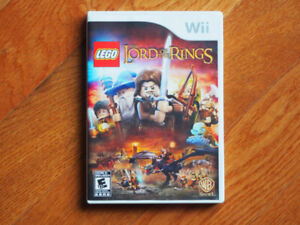 Nintendo Wii Lord Of The Rings