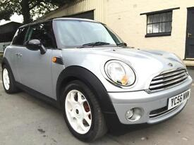 2006 56 Mini Cooper 1.6 6 Speed 3 Door Pure Silver **R56 Facelift, Pepper Pack**