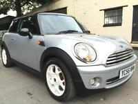 2006 56 Mini Cooper 1.6 6 Speed 3 Door Pure Silver **R56 Facelift, Pepper Pack**