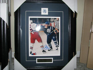 tie domi autographed 8x10 fight photo framed and matted Cambridge Kitchener Area image 2