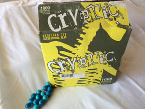 CRYPTIC PAINTBALLS