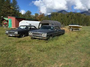 2 1964 Chevy Impalas for sale