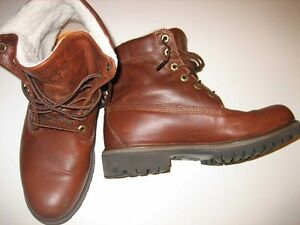 Bottes en cuir Timberland taille 8