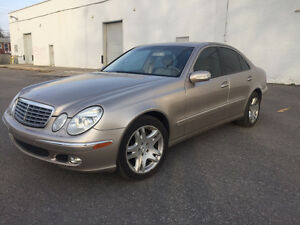 2003 MERCEDES E-500 ** 85 000 KM **  IMPECCABLE