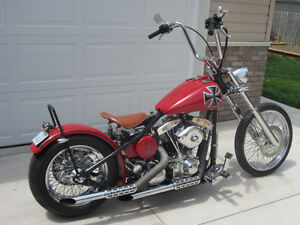 Custom Chopper Professionally Built