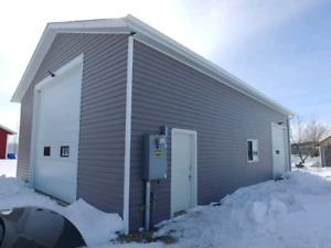 .83 Acre & Heated Truck Shop