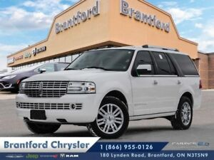 2011 Lincoln Navigator Base  Leather-heated seats-navigation-sun