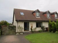 Excellent unfurnished family home in countryside location of Rosewell.