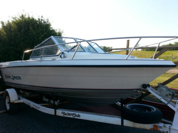 Used 1997 Campion Explorer 552