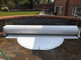 Abriblue hard pool cover
