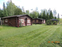 FOR SALE WATERFRONT LOG CAMPS ON MATTAGAMI LAKE