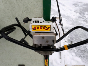 """2 jiffy 8"""" ice auger for sale"""