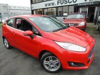 2013 Ford Fiesta 1.25 Zetec - Red - Low Mileage + Platinum Warranty!