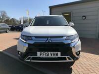 2019 Mitsubishi Outlander 2.0 4 5dr CVT ESTATE Petrol Automatic