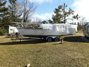 Sail boat with trailer for sale