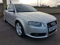 AUDI A4 3.2 FSI QUATTRO S-Line - MAIN DEALER SERVICE HISTORY, 1 FORMER KEEPER
